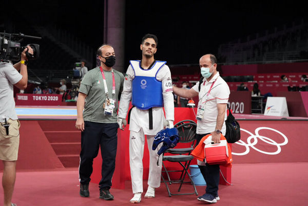 واکنش عجیب تکواندوکار المپیکی ایران بعد از حذف