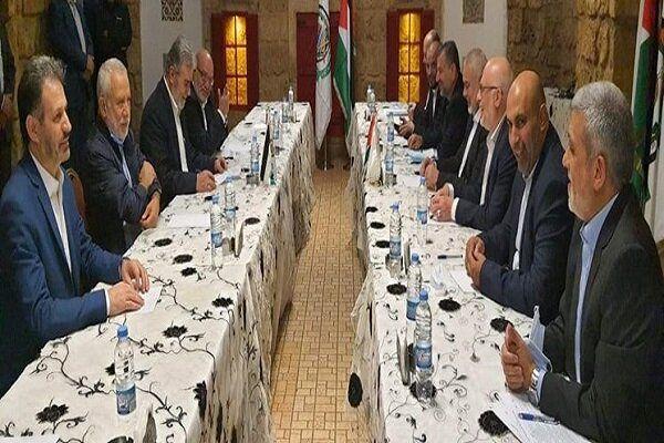دیدار رهبران حماس و جهاد اسلامی در بیروت
