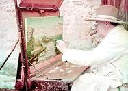 حراج نقاشی چرچیل