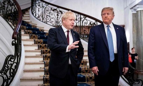 لندن برای کنار رفتن ترامپ از قدرت آماده می شود