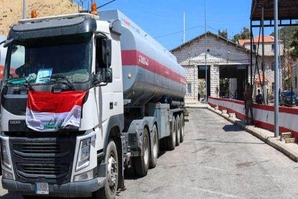 ورود اولین محموله سوخت عراق به لبنان