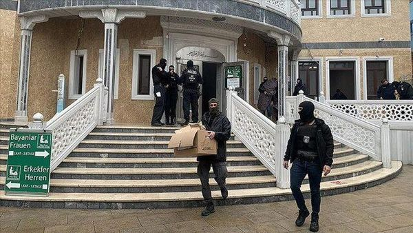 محکومیت حمله پلیس آلمان به یک مسجد از سوی اردوغان
