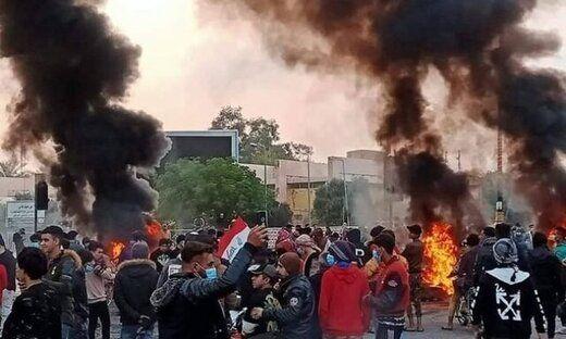 اعتراضات در عراق با کشته و زخمی