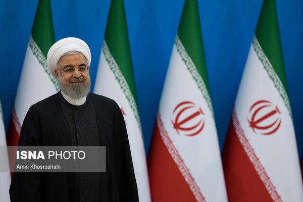 روحانی به مردم پیامک تبریک ارسال کرد