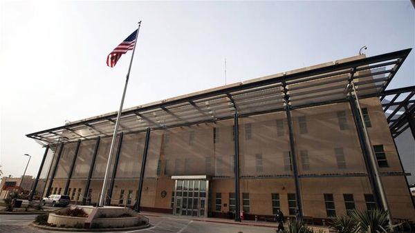 آژیر خطر در سفارت آمریکا در بغداد به صدا درآمد