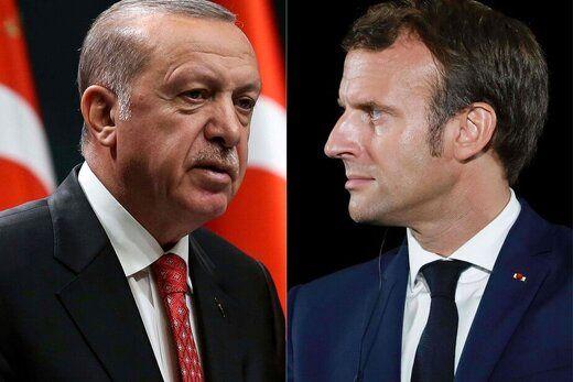 واکنش مکرون به احتمال تحریم ترکیه توسط اتحادیه اروپا