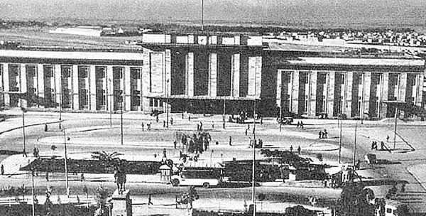 کلنگ زنی ایستگاه راه آهن تهران
