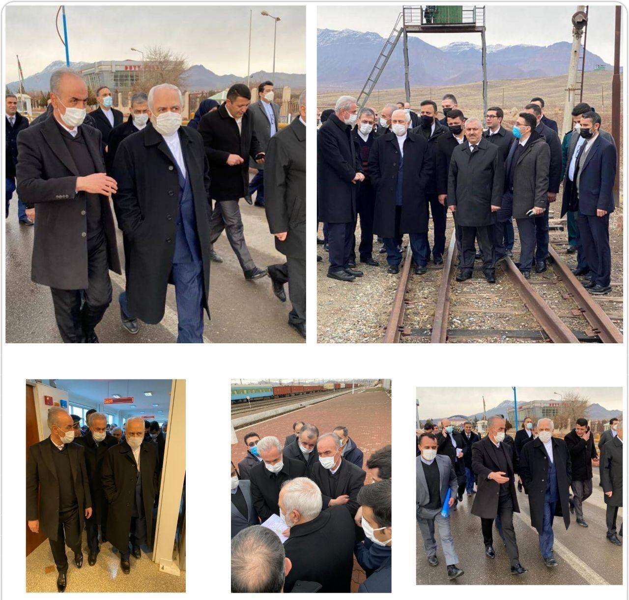 ظریف:رونق اقتصادی ارس با بازگشایی راههای منطقه تحقق مییابد