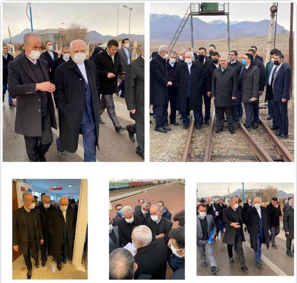 ظریف: رونق اقتصادی ارس با بازگشایی راههای منطقه تحقق مییابد