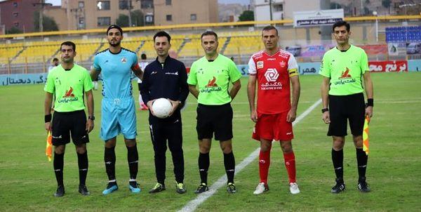 داوران هفته دهم لیگ برتر فوتبال مشخص شد