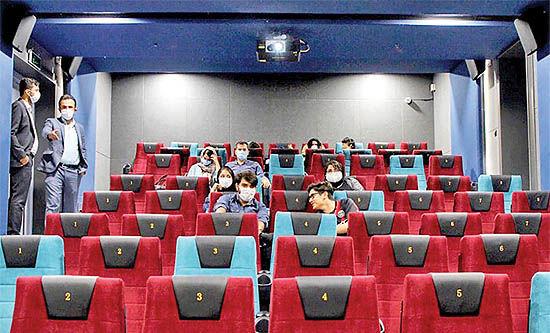 آبباریکه سینماها در مسیل اکران