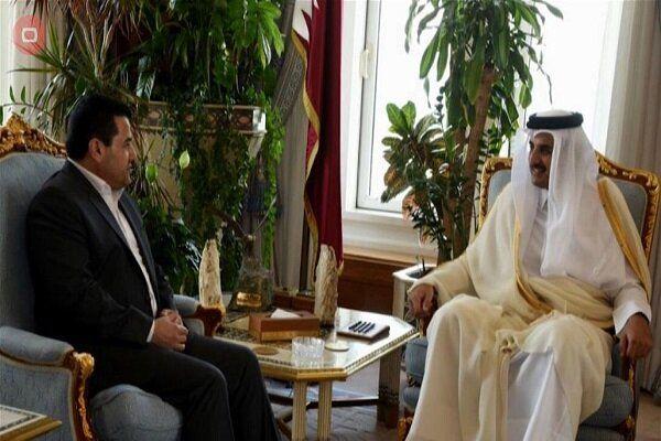 امیر قطر به نشست بغداد می رود