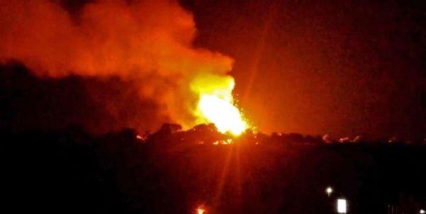وقوع سه انفجار شدید در پایگاه ائتلاف سعودی در یمن