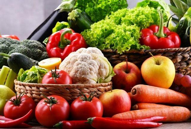 مصرف میوه و سبزی زیاد، بهترین روش از بین بردن غبغب