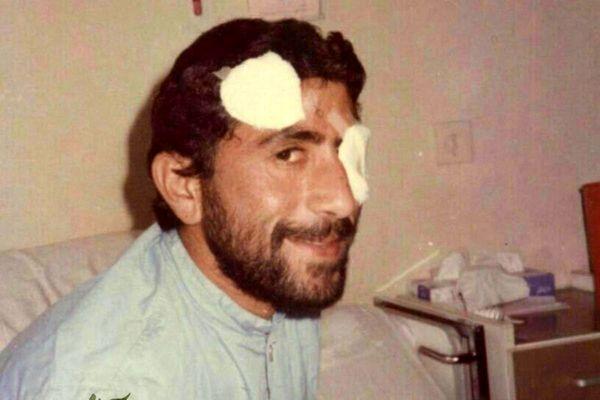 عکس دیدهنشده از مجروح شدن سردار قاآنی در دوران جنگ