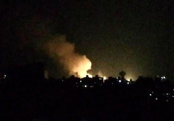 پدافند سوریه با تجاوز هوایی صهیونیستها مقابله کرد