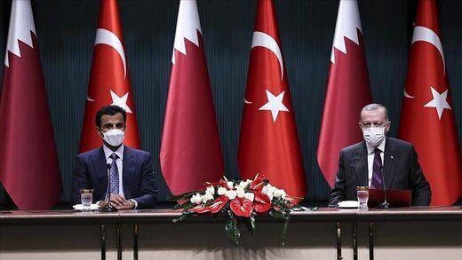امضای چندین توافقنامه همکاری بین ترکیه و قطر