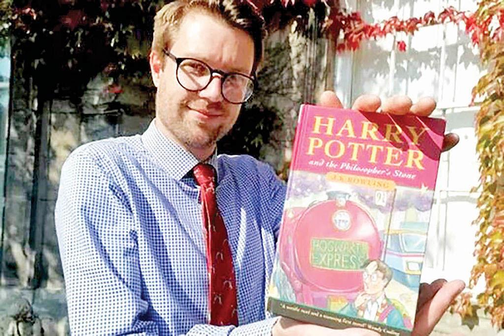 خریدار کتاب هریپاتر ثروتمند شد