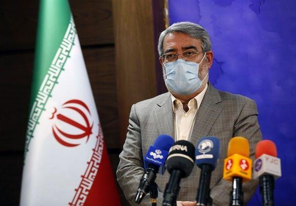 رحمانی فضلی: مرزهای ایران و عراق بسته میشود/ نمایشگاه بهاره نداریم