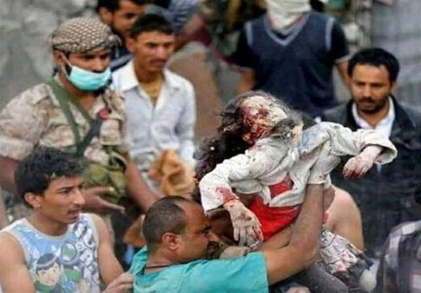 شهادت دو غیرنظامی بر اثر حمله هوایی ائتلاف سعودی به یمن