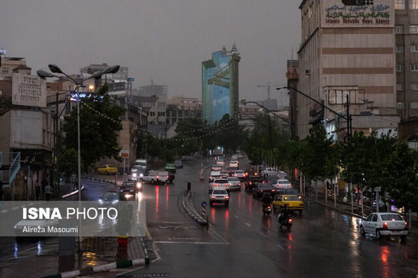 هشدار هواشناسی نسبت به وقوع رگبار  در این استانها