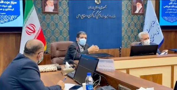 ضرغامی وزارتخانه میراث فرهنگی را تحویل گرفت