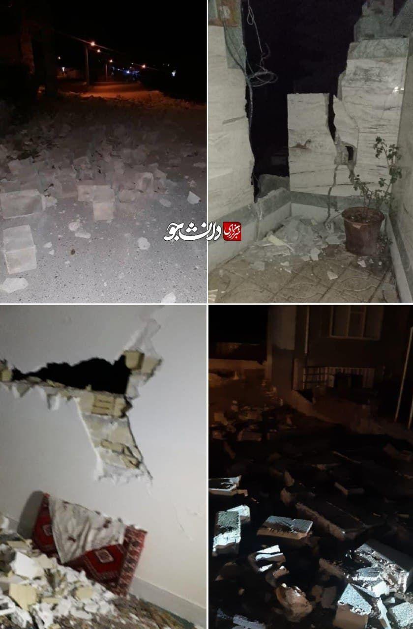 ببینید | تصاویری از تخریب خانههای مردم در شهر زلزله زده سی سخت بعد از زلزله ۵.۶ ریشتری