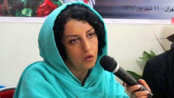نرگس محمدی به 80 ضربه شلاق و 30 ماه زندان محکوم شد