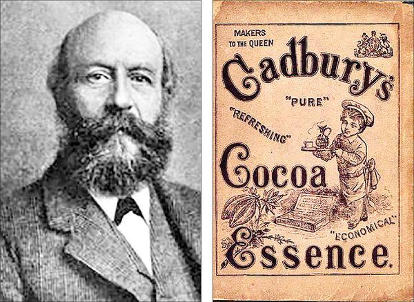 جان کدبری، موسس شرکت شکلاتسازی کدبری