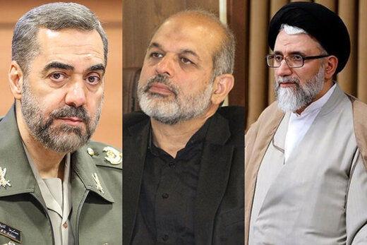 مجلس به این سه وزیر رئیسی بیشترین رأی را داد