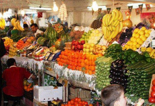 قیمت انواع محصولات پروتئینی و میوه در بازار