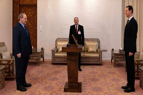 وزیر خارجه سوریه سوگند یاد کرد