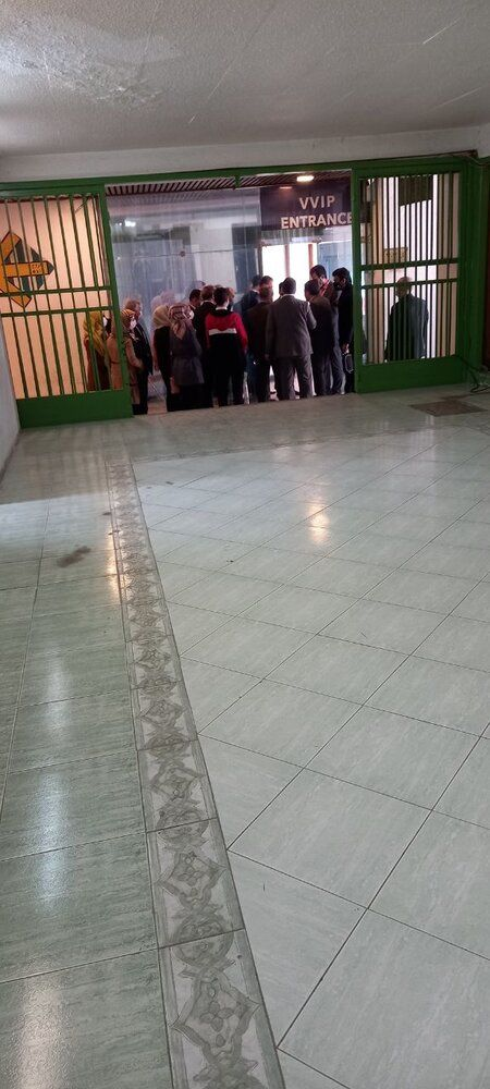 حضور دوباره بانوان سوری در ورزشگاه آزادی/عکس