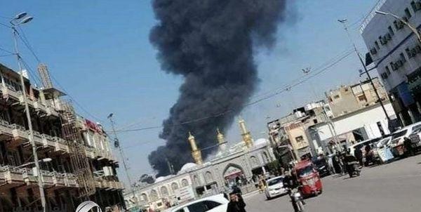 آتش سوزی در نزدیکی بین الحرمین تکذیب شد