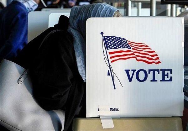 آخرین آمار از میزان مشارکت مردم آمریکا در انتخابات