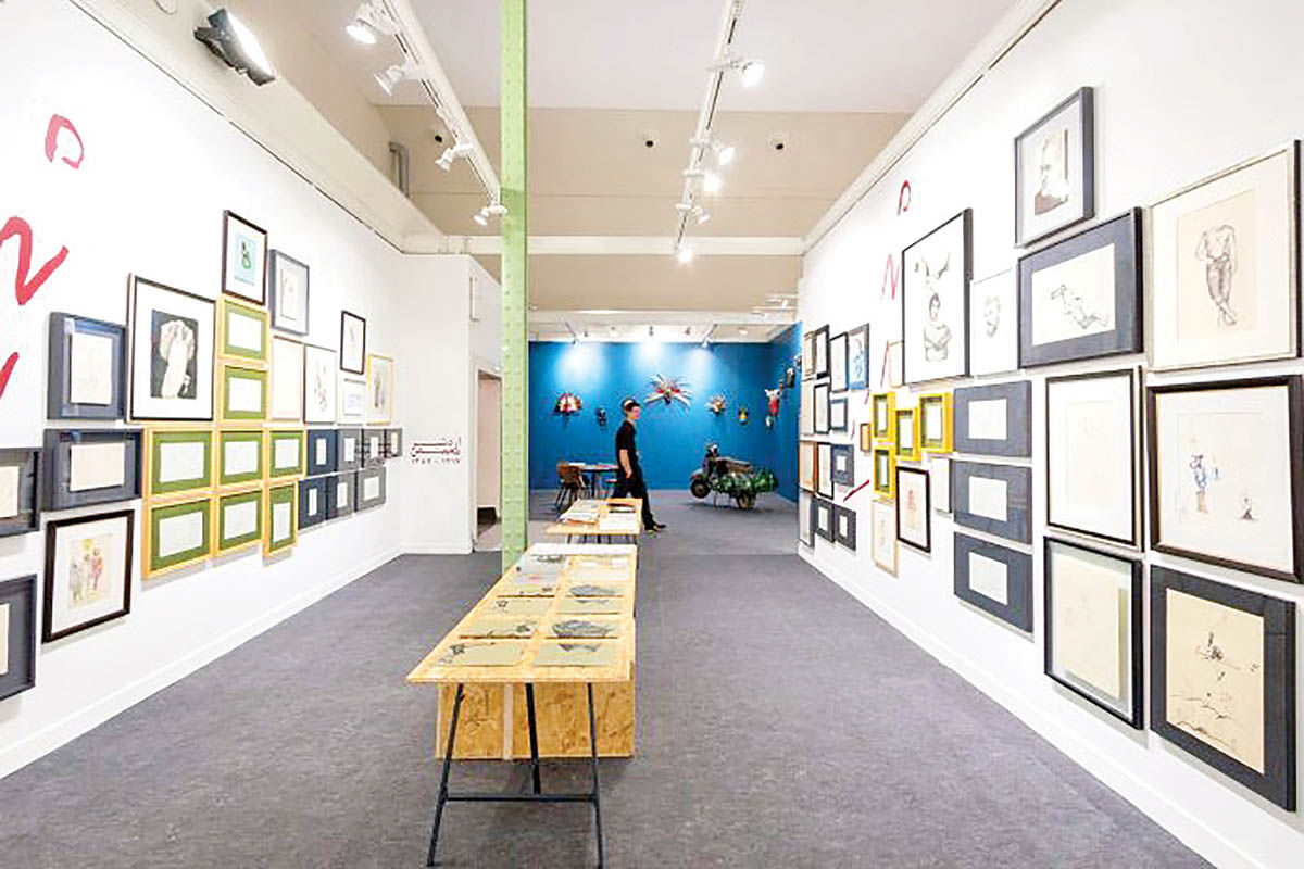 آثار هنرمندان برجسته ایرانی در پاریس