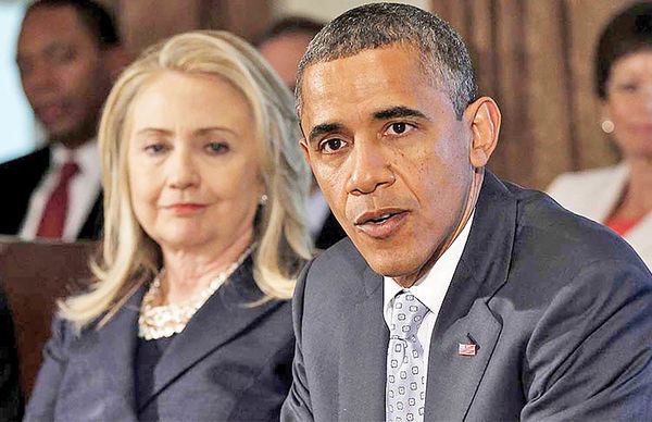 ناگفتههای دعوای اوباما و هیلاری
