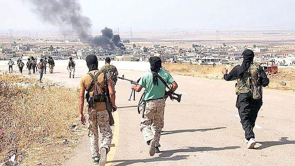 تبادل آتش در شرق سوریه