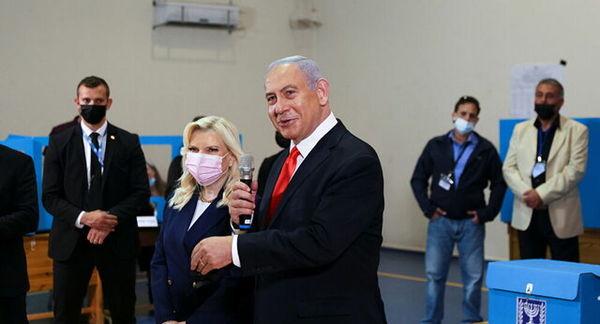 نتانیاهو مدعی پیروزی در انتخابات