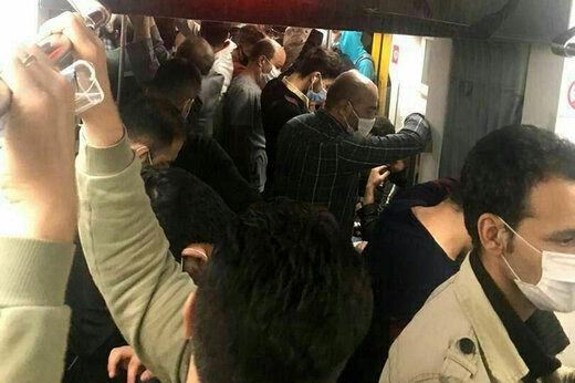 کاهش ۱۰۰ هزار نفری آمار مسافران مترو پایتخت