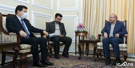 جزئیات دیدار قالیباف با رئیس مجلس سوریه و سفیر روسیه