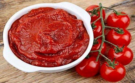 استفاده از رب گوجه فرنگی