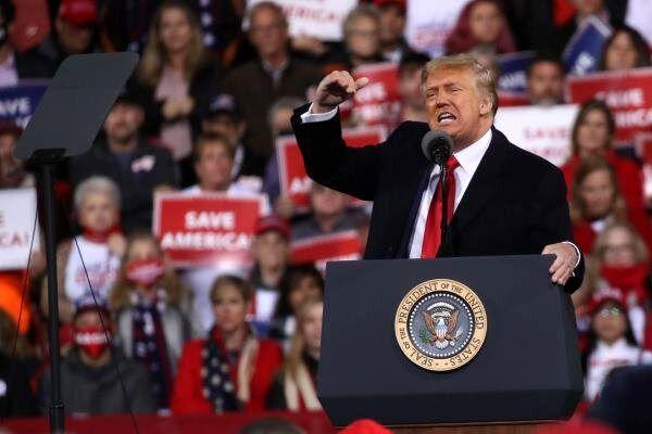 ترامپ: دموکراتها کاخ سفید را تصاحب نخواهند کرد