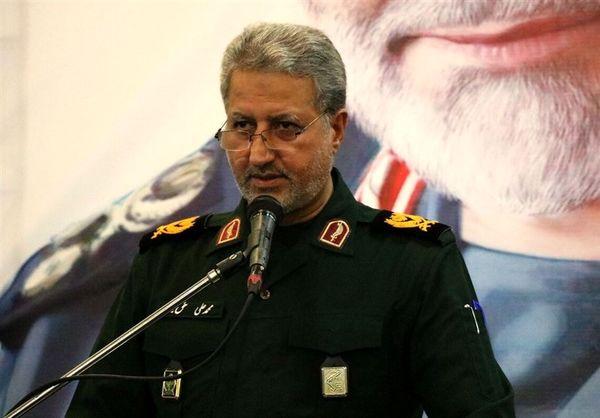 پیکر سردار حق بین به زادگاهش منتقل شد