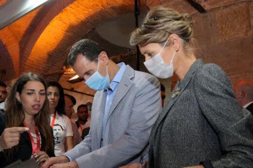 همسر بشار اسد صاحب یک تیم فوتبال شد