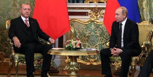 محور گفتگوی تلفنی اردوغان و پوتین