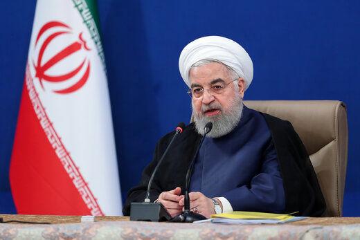 روحانی: توطئه دشمنان در فروپاشیدن اقتصاد ایران به نتیجهای نخواهد رسید