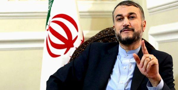 امیرعبداللهیان: ایران با قدرت از مقاومت و مردم فلسطین حمایت میکند