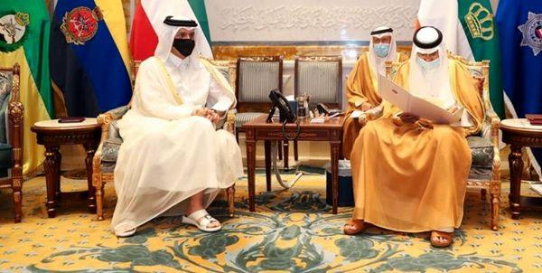 پیام مکتوب امیر قطر به همتای کویتیاش