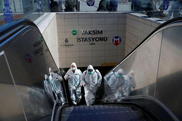 تعطیلی ترکیه به دلیل اوجگیری کرونا